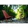 Mahogany Clam Chair