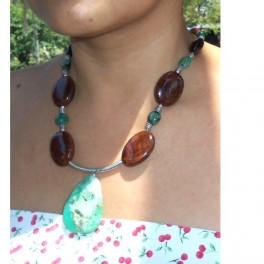Burl Necklace