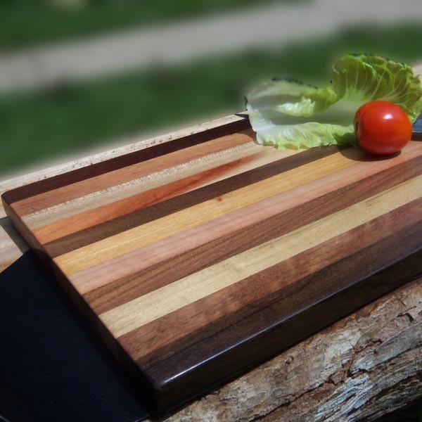 Large Wood Cutting Board Part - 35: ... 15 Inch Wooden Cutting Board -Large ...