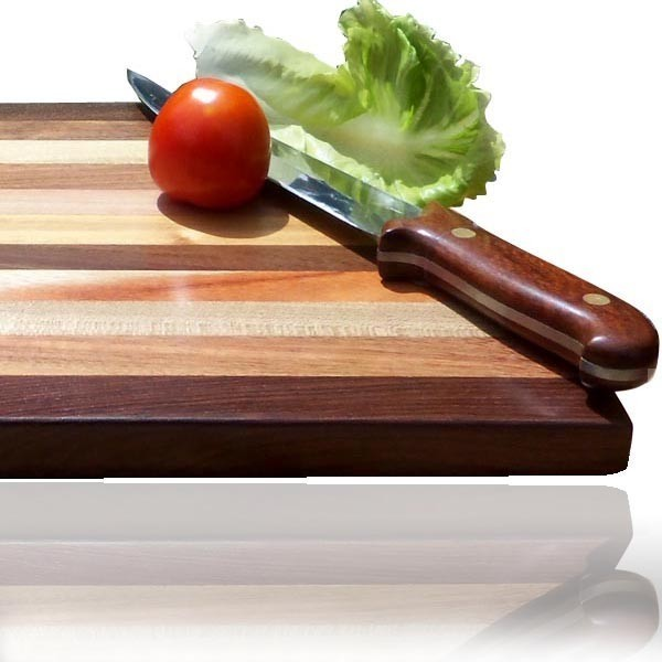 15 Inch Wooden Cutting Board  Large ...