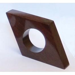 Wood Napkin Ring - Diamond
