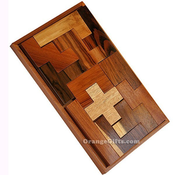 Rectangular Wood Puzzle