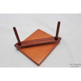 Mahogany napkin holder