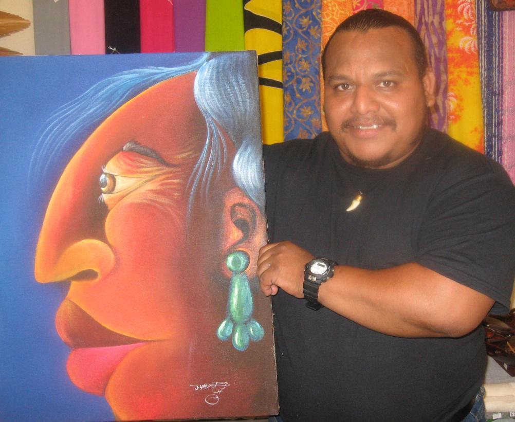 Jorge Landero Painting